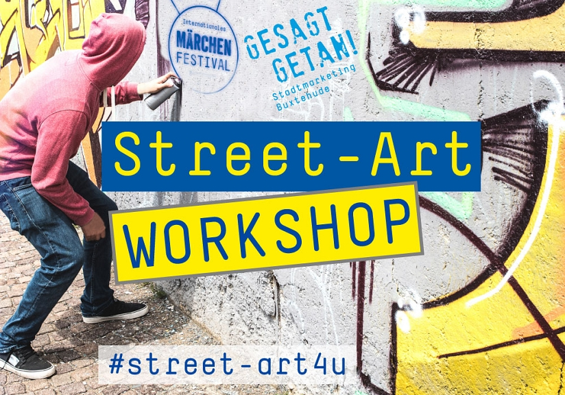 Street-Art Workshop Märchenfestival © Hansestadt Buxtehude