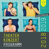 Theater- und Konzertprogramm 18/19 - Cover